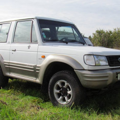 Hyundai Galloper 4x4 (Pajero), 2.5 Turbo Diesel, An Fabricatie: 2001, Motorina/Diesel, 1 km, 2416 cmc
