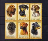 ROMANIA  2005 , LP 1694, CAINI DE VANATOARE SERIE  MNH, Nestampilat