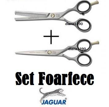 SET FOARFECA FOARFECE JAGUAR SALON TUNS + FILAT foto