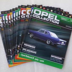Lot 13 reviste Opel Collection - Macheta auto