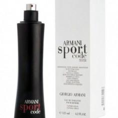 ARMANI SPORT CODE TESTER - Parfum barbati Armani, Apa de toaleta, 125 ml