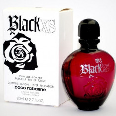 BLACK XS FOR HER TESTER ORIGINAL - Parfum femeie Paco Rabanne, Apa de toaleta, 80 ml