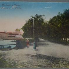 ORADEA (Nagyvarad) - Centru pietonal corso (Korospati Korso) - 1917, Necirculata, Fotografie