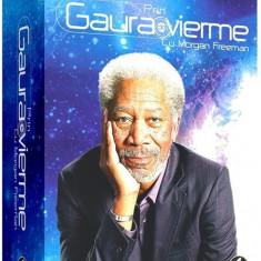 Colectie Morgan Prin gaura de vierme / Through the Wormhole - Film Colectie discovery channel, DVD, Romana