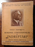 "Duiliu Zamfirescu - Romanul Comanstenilor - IV - ""Indreptari"""