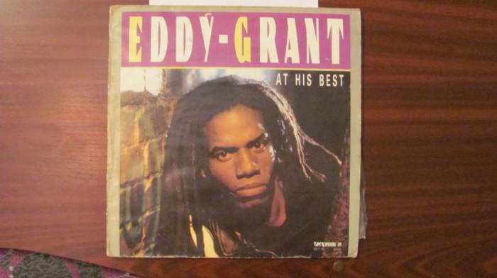 "GE - Disc vinil vinyl Edy GRANT ""At His Best"" Tanpress Polonia"
