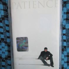 GEORGE MICHAEL - PATIENCE (1 CASETA ORIGINALA, CARTICICA VERSURI - CA NOUA!!!)