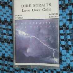 DIRE STRAITS - LOVE OVER GOLD (1 CASETA AUDIO - STARE FOARTE BUNA!!!)