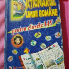 Dictionarul Limbii Romane pentru clasele 1-4 editura Aramis 306 pagini - Dictionar ilustrat