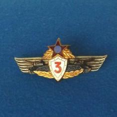 Insigna militara -TANCHIST cl.3 - TIP I R.P.R.- aripi in sus -RARISIMA