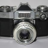 Zeiss Ikon Contaflex Super - Carl Zeiss Tessar 2.8/50 - 1961 - Made in Germany