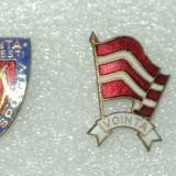 LOT 2 insigne Clubul Sportiv Vointa Bucuresti - Insigna