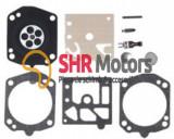 Kit reparatie carburator drujba Husqvarna 357 , 359 (Walbro) Calitatea I