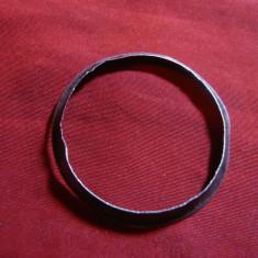 Rama de cadran ceas de argint, D.baza = 4, 1 cm, g=1, 9g, usor deformata - Piese Ceas