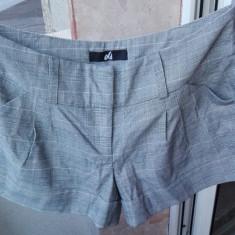 Pantaloni scuti dama - Pantaloni dama Only, Marime: 34, Culoare: Argintiu