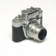 Altissa Altix NB + 50mm 2.8 Carl Zeiss Tessar - Aparate Foto cu Film