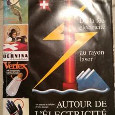 Carte colectie Autour de l'électricité. Un siècle d'affiche et de design