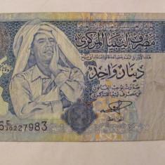 CY - Dinar 2002 Libia Libya - bancnota africa