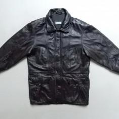 Geaca din piele naturala Molltan Real Leather; marime 50, vezi dim.; impecabila - Geaca barbati, Culoare: Din imagine