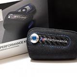 Husa piele cheie M PERFORMANCE pentru BMW F01, F07, F10, F12/13, F25, F30, 5 (F10) - [2010 - 2013]
