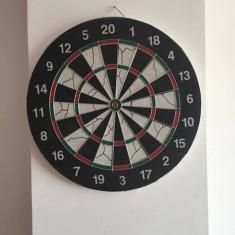 Tabla darts + 6 sageti otel - Set Darts