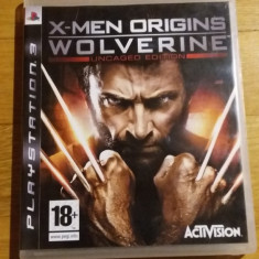 PS3 X-men Origins Wolverine Uncaged edition - joc original by WADDER - Jocuri PS3 Activision, Actiune, 18+, Single player