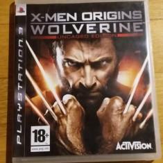PS3 X-men Origins Wolverine Uncaged edition - joc original by WADDER - Jocuri PS3 Activision, Actiune, 18+, Single player