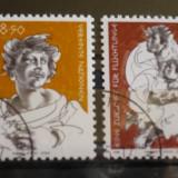 NATIUNILE UNITE VIENA 1984 – ANUL REFUGIATILOR, serie stampilata UN30 - Timbre straine, Natura