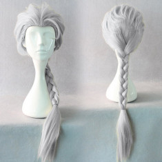 PER45-2 Peruca tematica Frozen Elsa - Peruca Dama