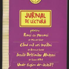 (C6980) JURNAL DE LECTURA. PENTRU PUNCI CU PORUNCI DE MICHAEL ENDE...