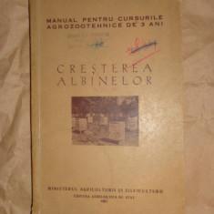 Cresterea albinelor (albinarit , stuparit ,apicultura)an 1957/232pag, Alta editura