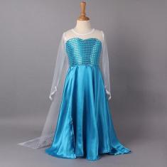 CLD17-4 Costum de copii - Elsa Frozen - Costum copii