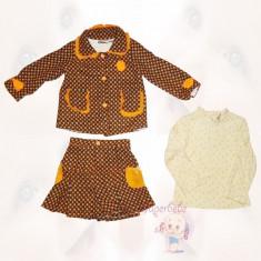 Compleu cu sacou si fusta - Rochite copii