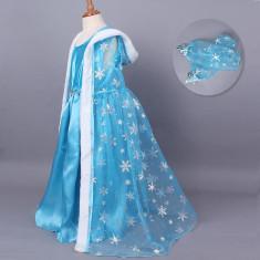 CLD82-4 Costum tematic printesa Elsa (Frozen) - Costum copii