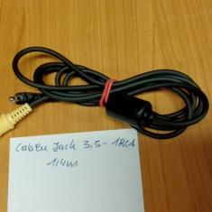 Cablu Jack 3, 5 - 1RCA 1, 4m - Cablu Camera Video