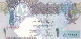 Bancnota Qatar 1 Riyal (2003) - P20 UNC