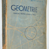 Geometrie manual clasa a VIII-a 1956 - Manual scolar, Clasa 6, Matematica