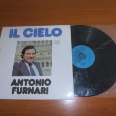 ANTONIO FURNARI-IL CIELO disc vinil LP vinyl pickup pick-up