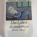 Milan Kundera -Das Leben ist anderswo, Alta editura