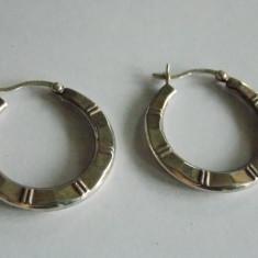 Cercei de argint -rotunzi - 340 - Cercei argint