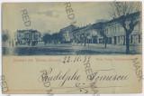 3547 - Litho, TURNU-SEVERIN - old postcard - used - 1899, Circulata, Printata