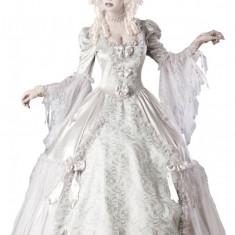 A259 Costum tematic medieval de mireasa zombi - Costum carnaval, Marime: M, L