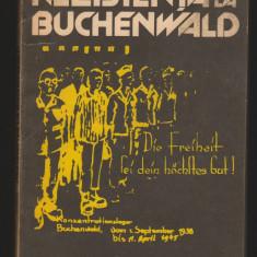 (C7007) KLAUS DROBISCH - REZISTENTA LA BUCHENWALD - Roman istoric