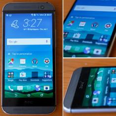 Htc one M8 cu toate accesoriile - Telefon mobil HTC One M8, Argintiu, 16GB, Orange