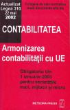 ARMONIZAREA CONTABILITATII CU UNIUNEA EUROPEANA ( CULEGERE DE ACTE NORMATIVE )