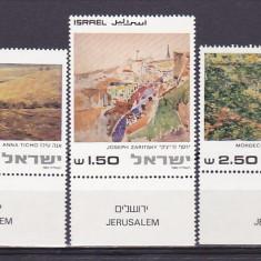 Pictura cu TAPS, Israel. - Timbre straine, Nestampilat