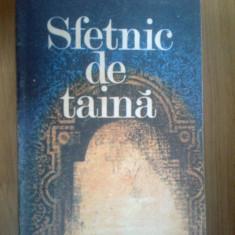 G2 STEFAN POPESCU - SFETNIC DE TAINA - Roman, Anul publicarii: 1985