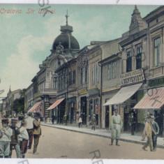 3548 - Dolj, CRAIOVA, street UNIRII - old postcard - used - 1910 - Carte Postala Oltenia 1904-1918, Circulata, Printata