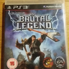 PS3 Brutal legend - joc original by WADDER - Jocuri PS3 Electronic Arts, Actiune, 16+, Single player