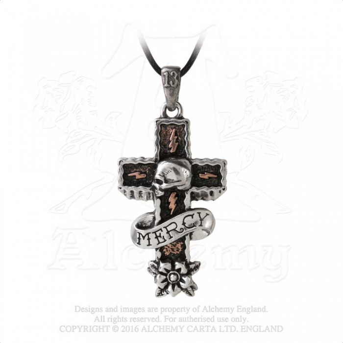Pandantiv Mercy Cross foto mare